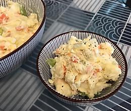 爱心日式土豆泥沙拉的做法