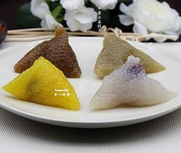 蔓越莓水晶粽子#莓汁莓味#的做法