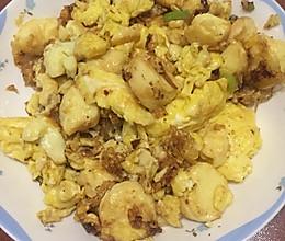 鸡蛋炒日本豆腐的做法