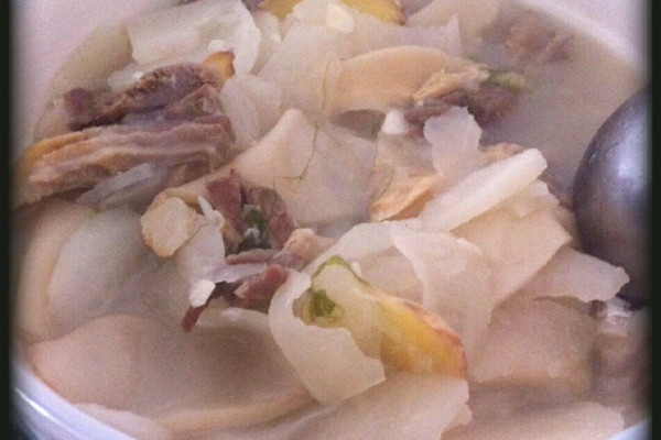 羊肉汤锅的做法