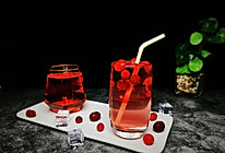#轻饮蔓生活#蔓越莓水晶杯的做法