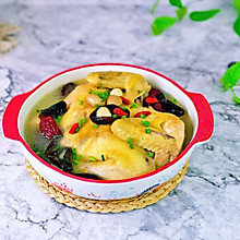 #餐桌上的春日限定#百果莲子红枣鸡汤