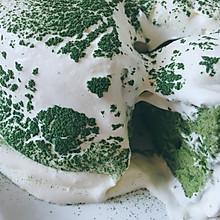 抹茶雪崩蛋糕