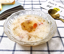 桃胶皂角米炖雪燕#美的养生壶#的做法