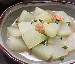 上汤海米冬瓜的做法