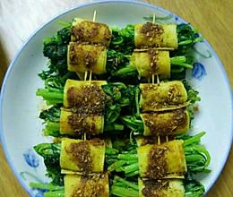炸菜卷的做法