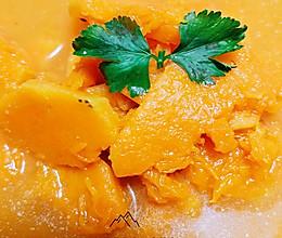 #憋在家里吃什么#南瓜汤的做法