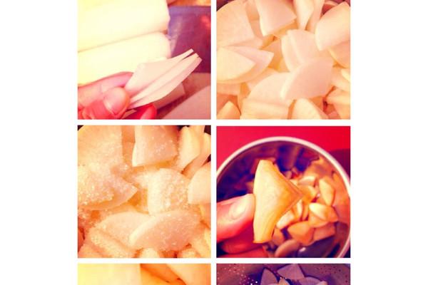 腌白萝卜的做法