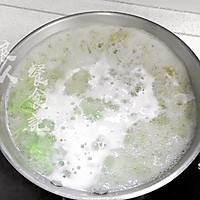 【绿菠菜阳春面】补血促生长发育通肠润燥的做法图解10