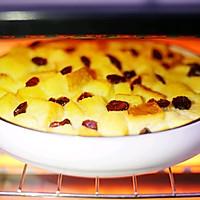 #带着零食去旅行!#酥脆软滑的蛋奶吐司布丁的做法图解11