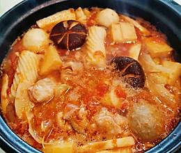 #橄榄中国味 感恩添美味#可以喝汤的火锅——番茄小火锅的做法