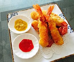 日式炸虾/黄金炸虾的做法