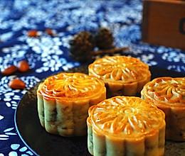 五仁月饼(低油低糖版)的做法