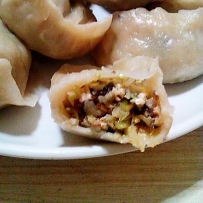 锦珍八鲜素蒸饺