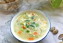 #合理膳食 营养健康进家庭#十分钟搞定的海鲜疙瘩汤的做法