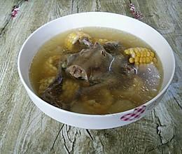 玉米山药鸽子汤的做法