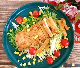 #人人能开小吃店#鸡胸肉香嫩多汁秘诀&鸡胸肉沙拉的做法