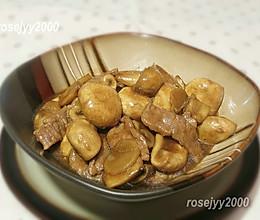 #我们约饭吧#蠔油蘑菇牛肉