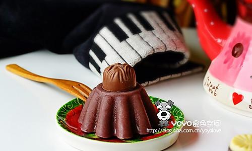巧克力红豆羊羹的做法