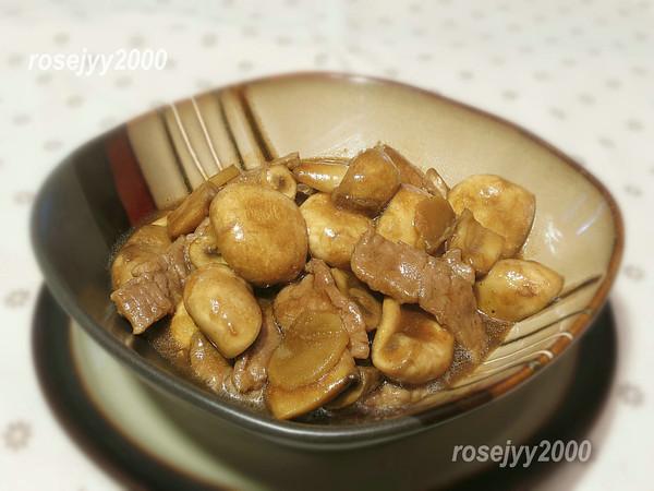 蠔油蘑菇牛肉的做法