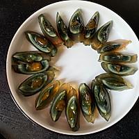 #味达美名厨福气汁,新春添口福#开运年菜黄瓜拌皮蛋的做法图解1