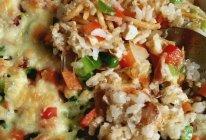 黎麦海鸭蛋焗饭的做法