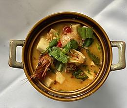 泰式大虾冬阴功汤的做法
