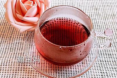 玫瑰茄菊花茶