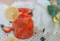 草莓茉莉花茶的做法
