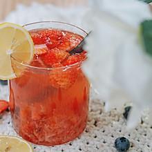 草莓茉莉花茶
