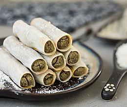 绿豆脆卷的做法