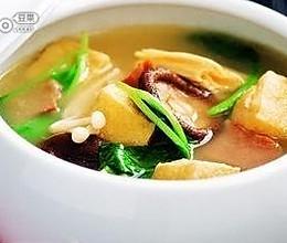 腊肉油豆腐暖锅的做法