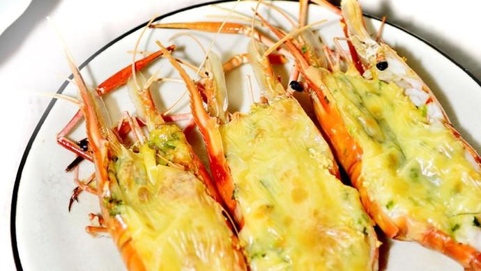 芝士焗大虾(20分钟缔造极品美味)