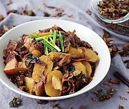 梅干菜土豆烧肉的做法