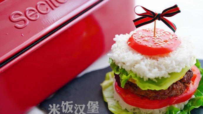 做一个米饭汉堡,还用担心孩子不吃饭饭吗