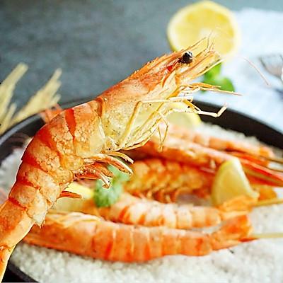 盐焗斑节虾