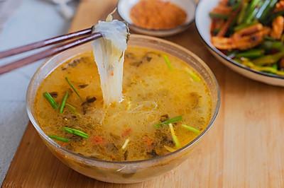酸菜粉丝汤