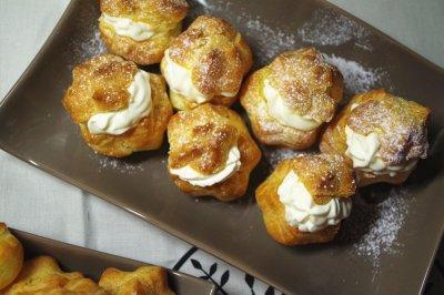 金黄酥脆的奶油泡芙,过程也简单