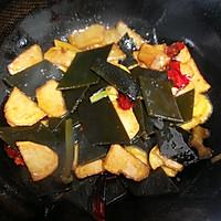 土豆烧海带的做法图解7