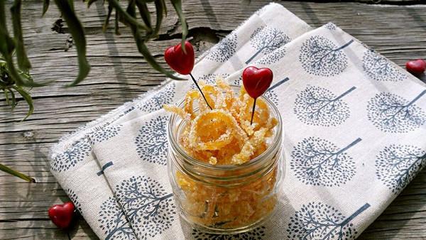 橙皮糖的做法