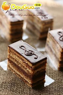 歌剧院蛋糕 -- Opera的做法
