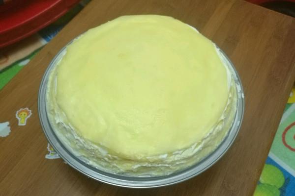 原味奶油千层的做法