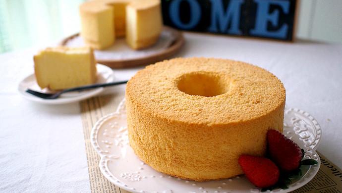淡奶油戚风蛋糕#我的烘焙不将就#