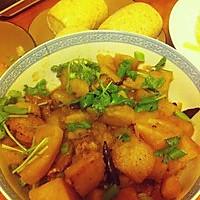 私房土豆炖排骨的做法图解9