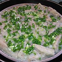 咸肉虾米芋头糕的做法图解7