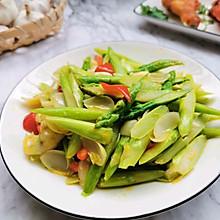 #花10分钟,做一道菜!#芦笋炒百合