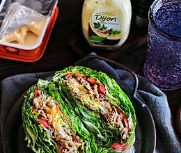 听说全网都在吃蔬菜三明治#我们约饭吧#的做法