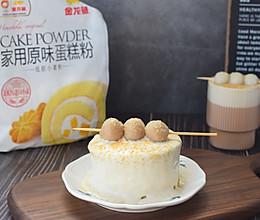 #爱好组-低筋#伯爵奶茶丸子蛋糕的做法