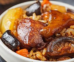 日食记丨香菇鸡肉焖饭的做法