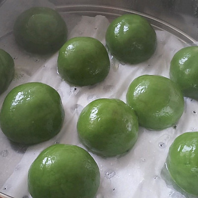简单易做的青团子(含红豆沙制作方法)